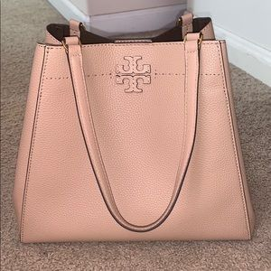 Tory Burch-McGraw Carryall Leather Tote